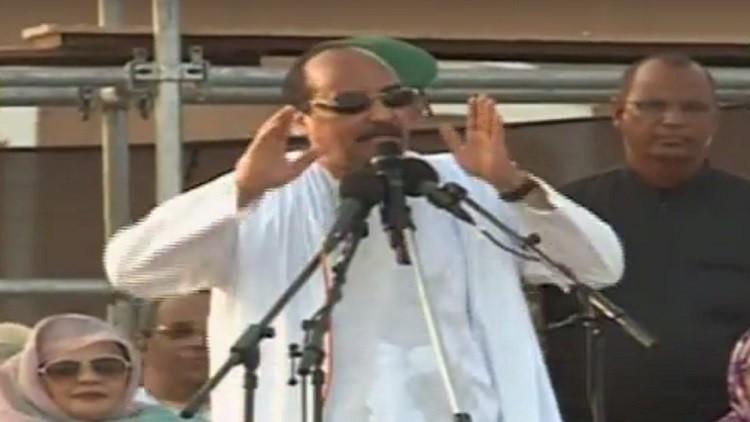 الرئيس الموريتاني يدعو مواطنيه للتصويت على الغاء مجلس الشيوخ