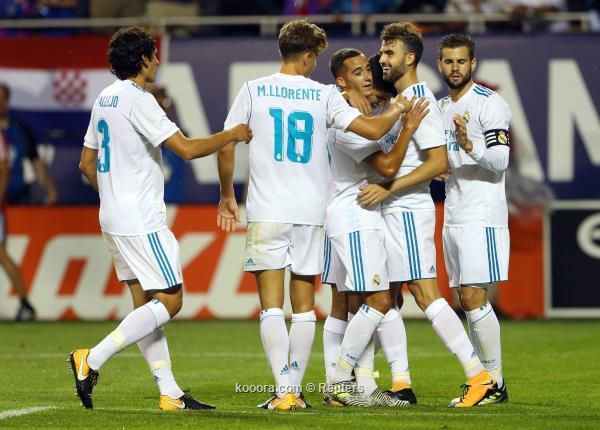 ريال مدريد يفوز بركلات الترجيح على نجوم الدوري الامريكي ودياً