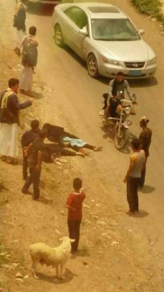 صورة… تفاصيل الجريمة التي هزت العاصمة صنعاء ظهر أمس!!