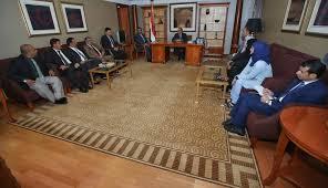 نائب رئيس الجمهورية يلتقي باللجنة الوطنية في ادعاءات انتهاكات حقوق الانسان