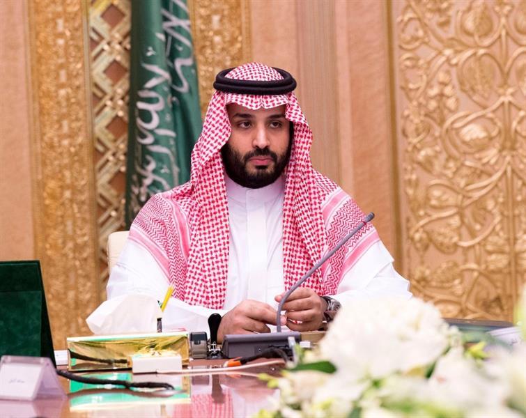 رسالة خطية من الامير الكويت للملك سلمان يتسلمها ولي العهد محمد بن سلمان