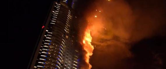 الثالث من نوعه خلال أسبوع.. حريق بأفخم فنادق دبي والسلطات تخلي جميع النزلاء والعاملين