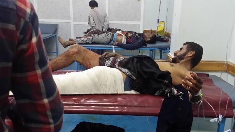مقتل واصابة 7 من المدنيين في قصف مليشيا الحوثي والمخلوع صالح مدينة تعز