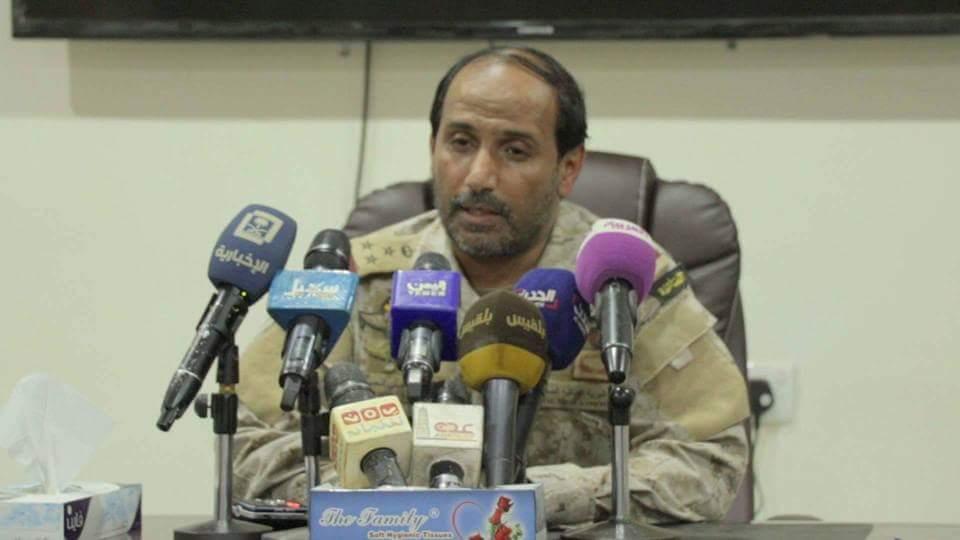 قائد قوات التحالف العربي يكشف موعد دخول قوات الجيش الوطني إلى صنعاء