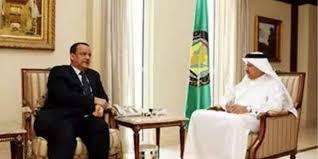 ولد الشيخ يطلع الامين العام لمجلس التعاون الخليجي على تفاصيل مبادرة الحديدة