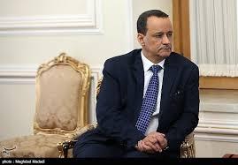 ولد الشيخ يبحث مع مساعد وزير الخارجية الايراني حلول الازمة اليمنية