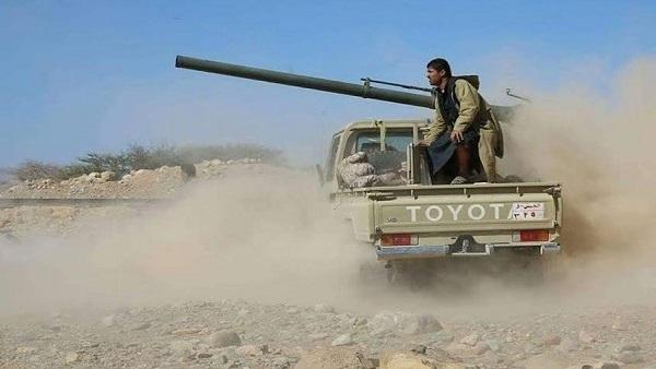 معارك عنيفة بين الجيش الوطني والمليشيات الانقلابية في جبهات شبوة