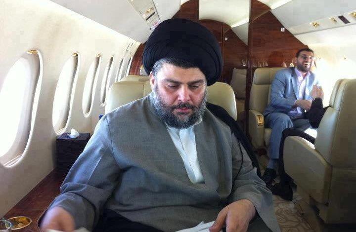 الإمارات تتودد لإيران وترسل طائرة خاصة لمقتدى الصدر لنقله إلى أبوظبي