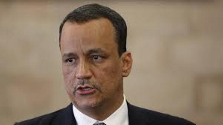 ولد الشيخ : ليس هناك حل لوقف الحرب في اليمن الى حل مبني على ترتيبات امنية وسياسية