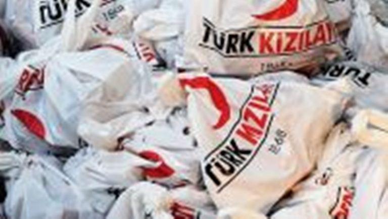 الهلال الاحمر التركي يوزع 1250 طنا من الدقيق الابيض بمحافظتي الجوف والحديدة