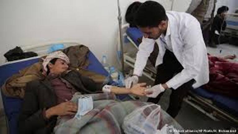 منظمة الصحة العالمية تعلن ارتفاع عدد وفيات وباء الكوليرا الى 2018 حالة وفاة منذ 4 اشهر