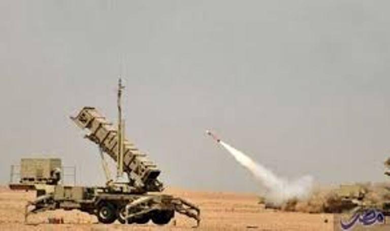 منظومة التحالف العربي تعترض صاروخا باليستيا في سماء مدينة مارب