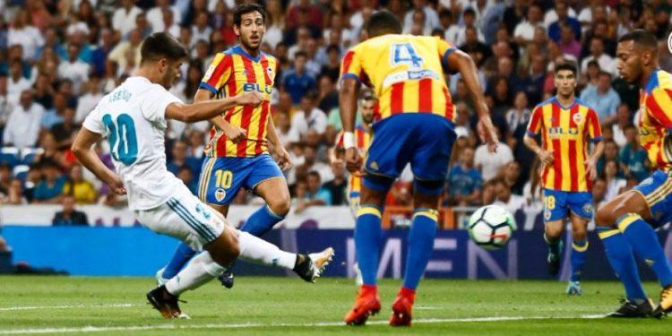 ريال مدريد يتعادل مع فالنسيا في الجولة الثانية من الدوري الاسباني