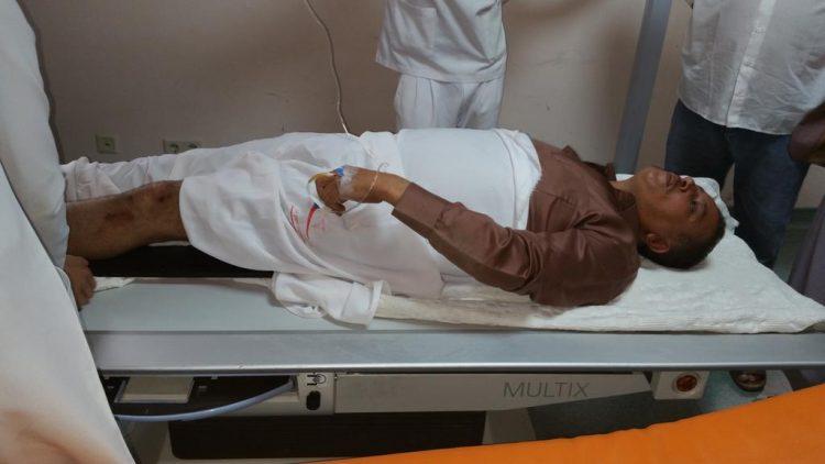 مسلحون حوثيون يعتدون على محمد المسوري محامي الرئيس السابق صالح