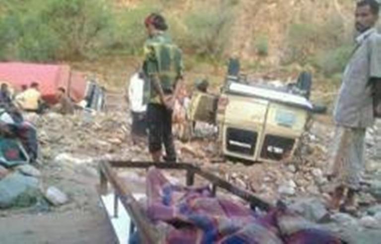 إرتفاع عدد ضحايا السيول في المقاطرة الى 10 ضحايا