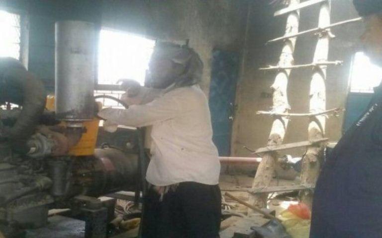 إعادة تشغيل بئر العدون بمديرية زنجبار في ابين وفقا لتوجيهات محافظ المحافظة