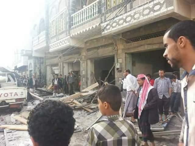 قتيل وعدد من الجرحى جراء انفجار مخزن لحفظ الموز في مدينة اب