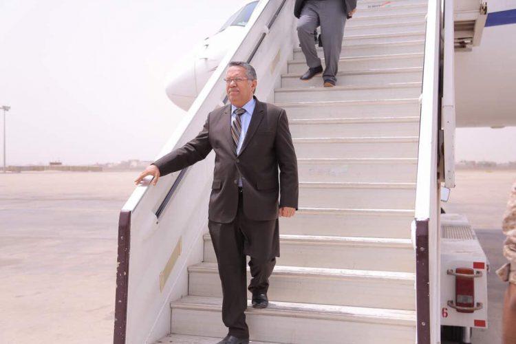 """رئيس مجلس الورزاء من عدن """"الظروف الصعبة التي نعيشها بسبب شحة الموارد لن تخلق فينا اليأس"""""""