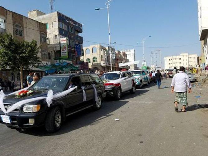 مقتل إمراة واصابة 5 نساء بإطلاق المليشيات رصاص على موكب عرس غرب تعز
