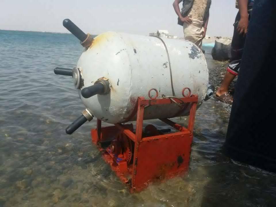 تحالف دعم الشرعية في اليمن يدمر لغمين بحريين جنوب البحر الأحمر