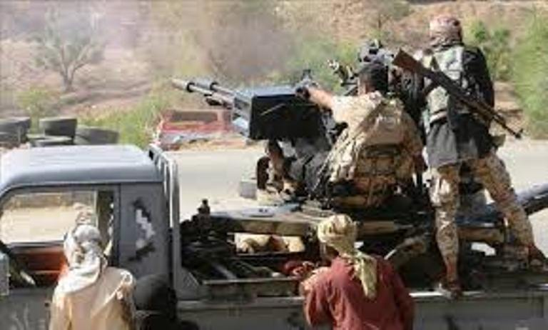 مقتل وإصابة 18 من المليشيات الانقلابية في هجوم لقوات الجيش الوطني على مواقعهم غرب تعز