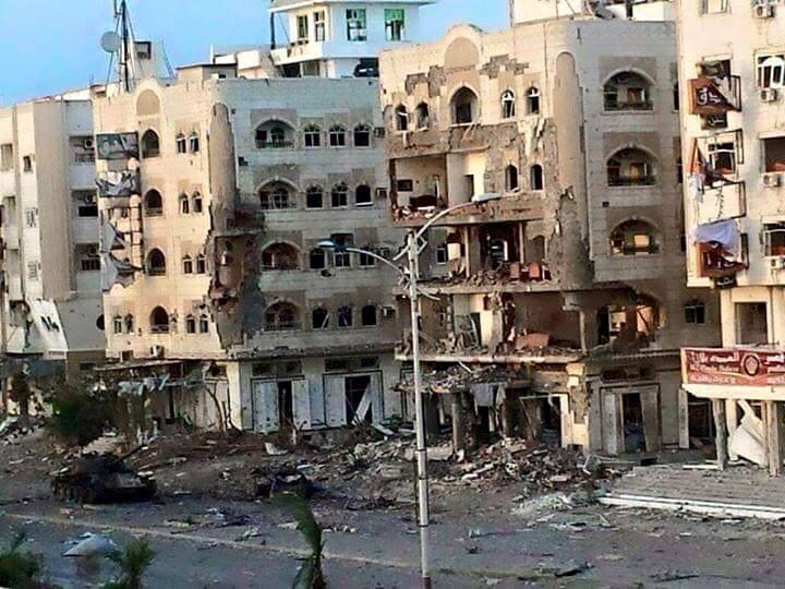 المحافظ عبدالعزيز المفلحي يدعو العالم ودول الخليج إلى دعم ملف إعادة اعمار عدن