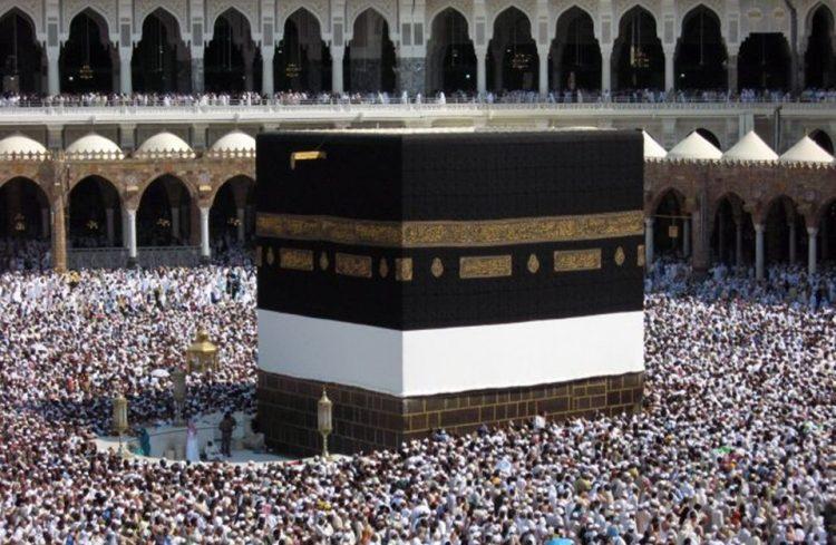 شاهد بالفيديو لأول مرة.. مشهد جمالي في صحن الكعبة بثالث أيام العيد في مشهد لم يحدث من قبل