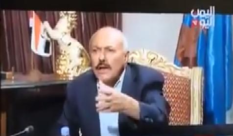 أبرز ماقاله المخلوع صالح في مقابلته على قناة اليمن اليوم وكيف غازل التحالف والسعودية
