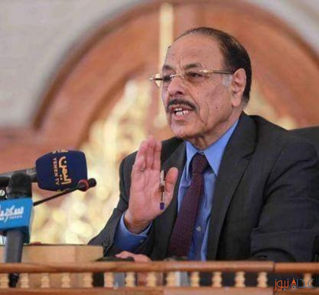 الفريق علي محسن الاحمر يؤكد ضرورة الحل العسكري في اليمن لهذا السبب
