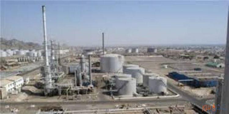 شركة مصافي عدن تضخ 7 الاف طن من المشتقات النفطية الى شركة النفطية اليمنية في عدن