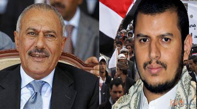 """علي عبدالله صالح يضع عبدالملك الحوثي في خطر حقيقي بعد لقائهم المباشر """"تفاصيل"""""""