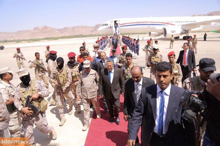 رئيس الوزراء بن دغر يزور سيئون شرق اليمن