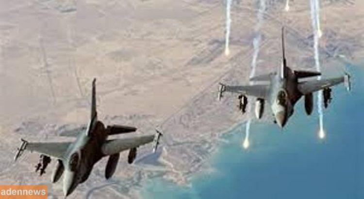طيران التحالف العربي يشن غارات على مواقع الانقلابيين في صعدة