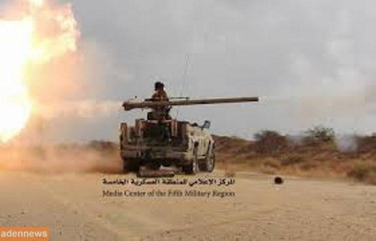 قوات الجيش الوطني تسيطر على اجزاء واسعة من وادي بن عبد الله في مدينة حرض