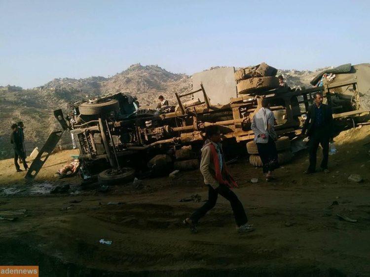 مقتل مدني واصابة 5 اخرين بغارة لطيران التحالف العربي على محافظة حجة