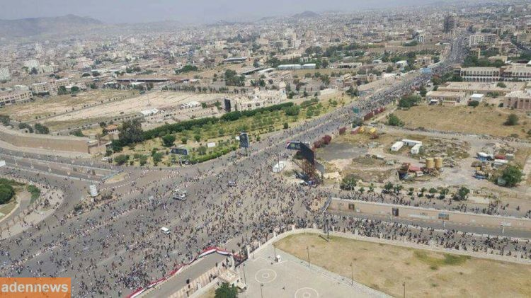 الحوثي وفشل رسالته الهامة في ميدان السبعين