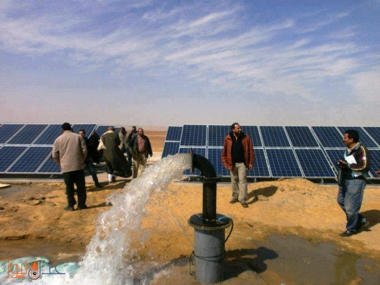 تدشين مشروع للمياه يعمل بمنظومة بالطاقة الشمسية td gp[