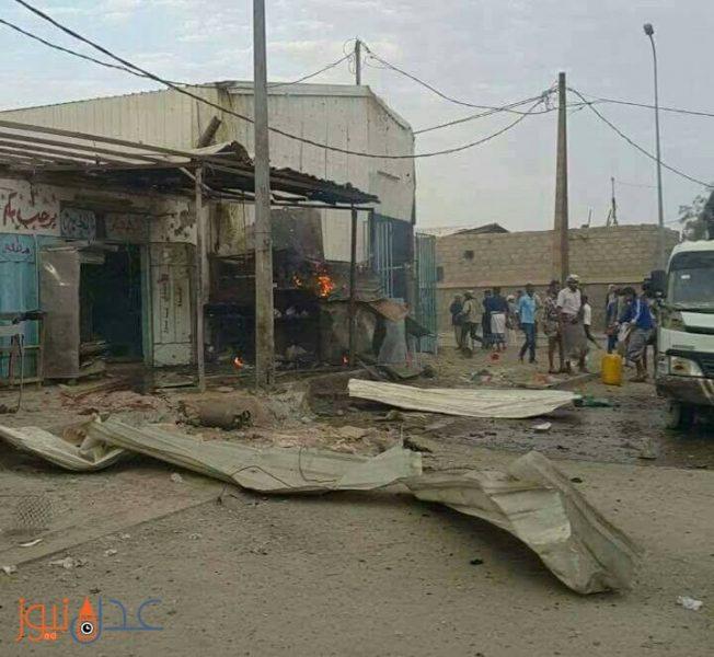 مسلحو جماعة الحوثي يقصفون حي سكني في مارب