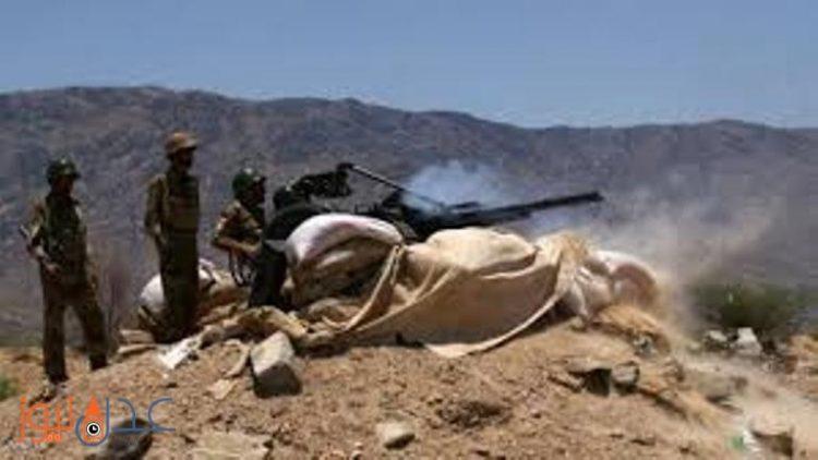 اندلاع المعارك بين قوات الجيش الوطني وبين الانقلابيين في مديرية عسيلان بشبوة