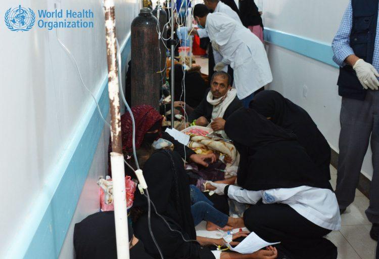 منظمة الصحة العالمية: ارتفاع وفيات وباء الكوليرا الى 2127 حالة وفاة منذ 27 ابريل الماضي