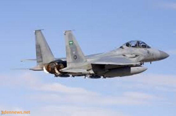قوات التحالف العربي تشن 10 غارات على مواقع الانقلابيين في صعدة