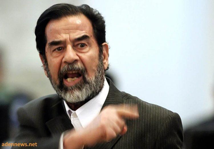 """""""صدام حسين""""..تفاصيل مثيرة عن وصية """"أبو عدي"""" السرية!!"""
