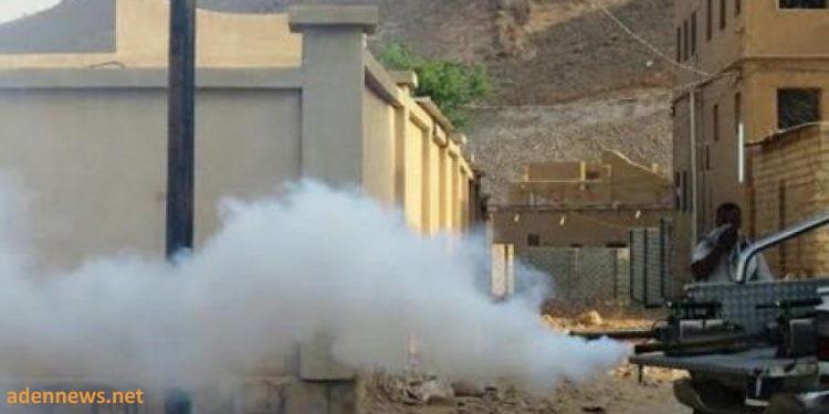 عدن: انتهاء حملة الرش الضبابي في خور مكسر