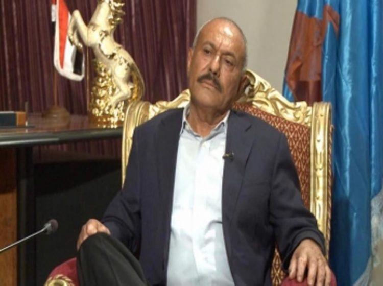 """شاهد أول صورة للمخلوع """"صالح"""" بعد العملية الجراحية في صنعاء"""