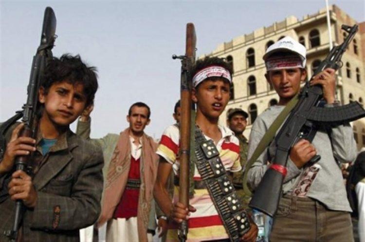 مليشيا الحوثي تختطف اطفالا من مدارسهم وتجبرهم بالذهاب الى الجبهات في محافظة إب