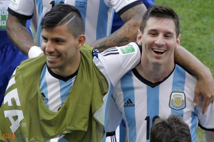 أغويرو يكشف حقيقة انتقال ليونيل ميسي إلى مانشستر سيتي!