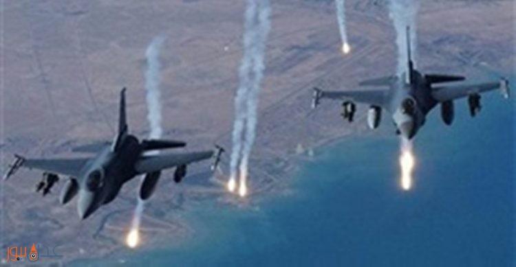 طيران التحالف العربي يشن غارات على مواقع وتعزيزات للمليشيات الانقلابية في نهم