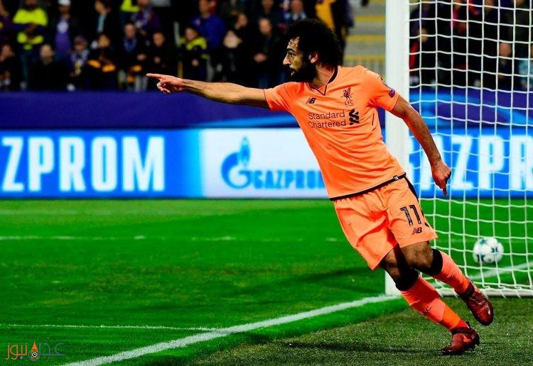 المصري محمد صلاح يقود ليفربول لفوز كبير في دوري ابطال اوروبا