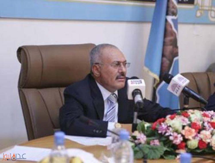 صالح يقول انه يدرس مسالة مغادرته اليمن بناء على دعوة وجهها له معهد روسي لمناقشة الازمة اليمنية