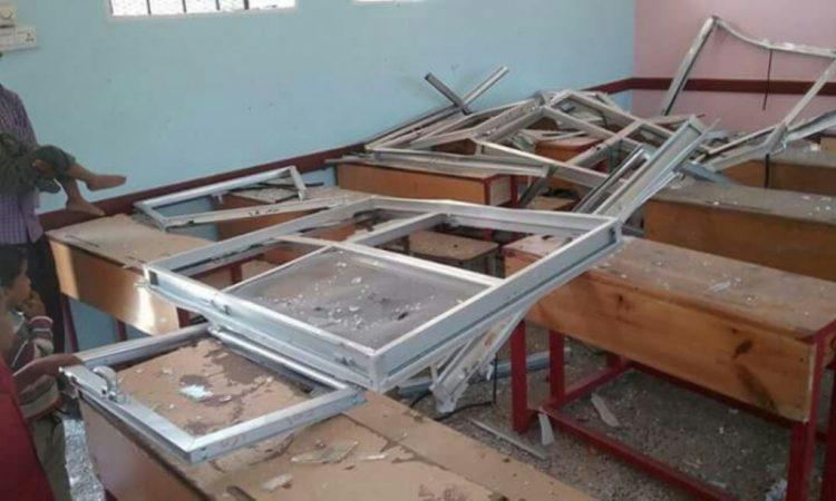 انفجار عبوة ناسفة زرعت في مدرسة بالضالع